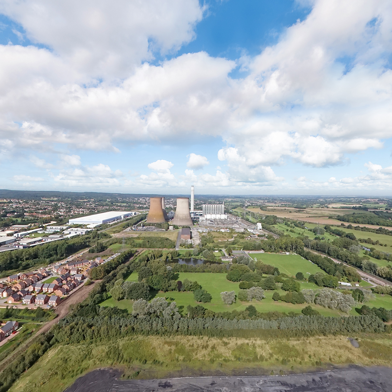 Rugeley and the power station