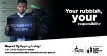 Fly tipping campaign