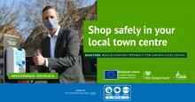 shop safely in town centres