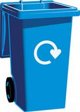Extra Blue Bin Recycling Capacity Cannock Chase District