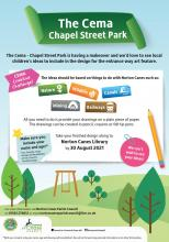 Cema Play area poster