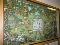 Tapestry about the heritage of Cannock Chase