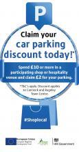 Car parking discount