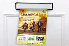 chase matters magazine through a letterbox