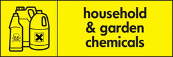 household and garden chemicals icon