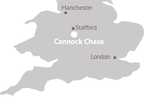 Where to find Cannock Chase District Council