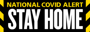 Covid High alert logo