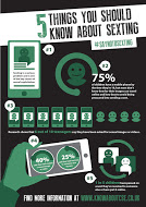 5 things you should know about sexting poster
