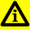 Warning triangle logo