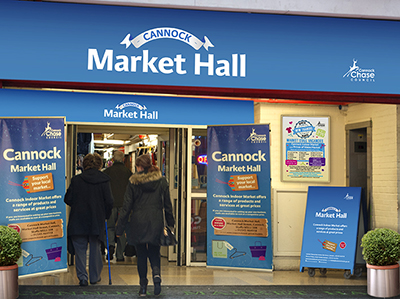 Cannock And Rugeley Have Been Holding Markets Since The 13th Century When Original Royal Charter Was First Issued Are Situated In Town
