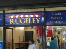 Rugeley Market Hall entrance