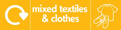 mixed textiles and clothes icon